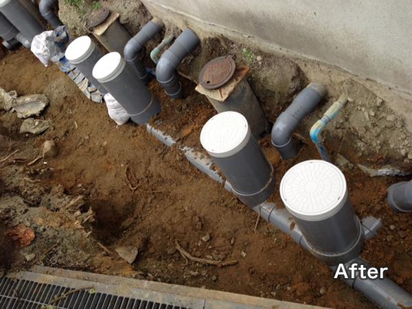 給排水管の交換事例
